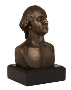 """George Washington Bust in Bronze (6"""")"""